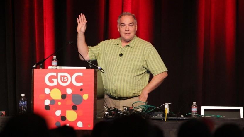 Warren Robinett bei der Game Developers Conference 2015