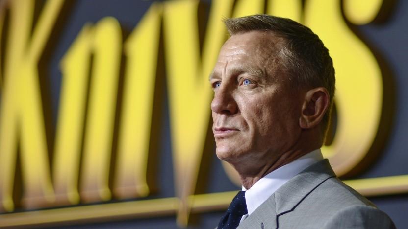 Daniel Craig bei der Premiere von Knives Out