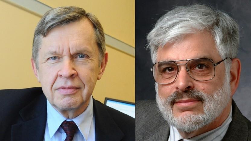 Die Gewinner des Turing Award 2020: Alfred Aho (l.) und Jeffrey Ullman (r.)