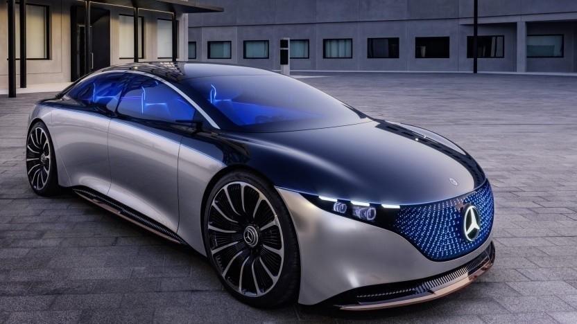 Konzept des Mercedes-Benz EQS: batterieelektrische AMG-Derivate