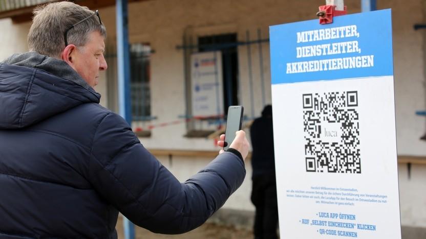 Die Luca-App wird in Mecklenburg-Vorpommern zur Kontaktnachverfolgung genutzt.