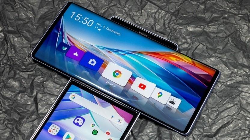 Smartphone LG Wing: Verluste in Milliardenhöhe