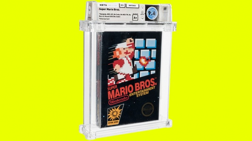 Das versteigerte Super Mario Bros