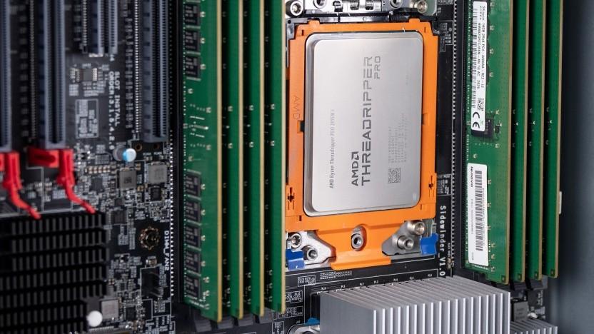Threadripper Pro 3995WX in Lenovos P620