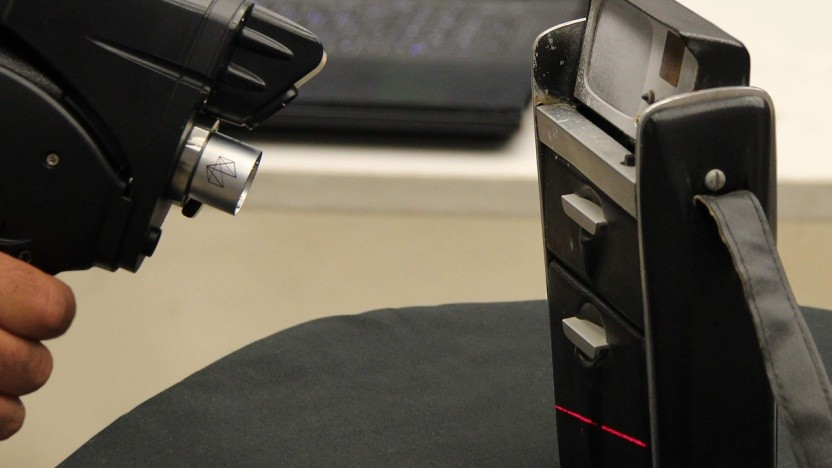 Der letzte Original-Tricorder wird mit einem 3D-Scanner erfasst.