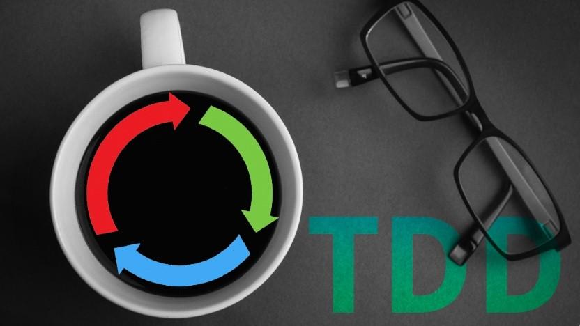 Scheitern gehört zum Konzept bei TDD.