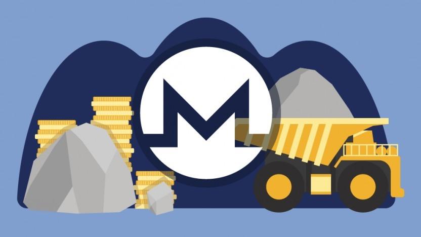 Monero-Mining (Symbolbild)
