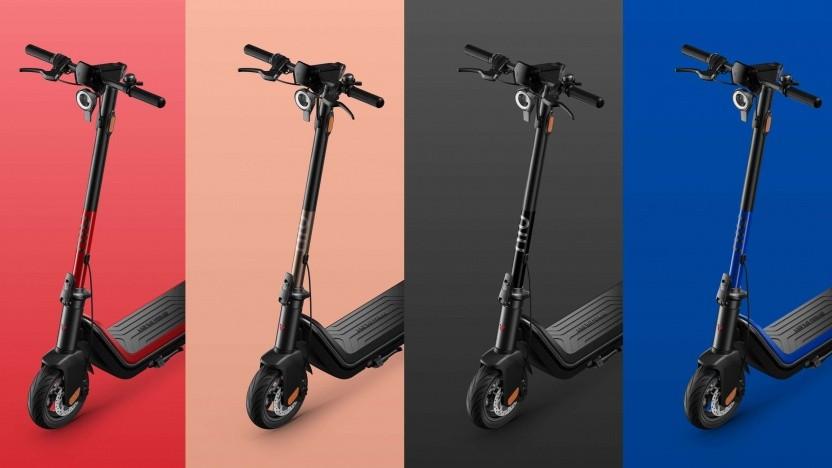Der Niu Kick Scooter ist in verschiedenen Farben erhältlich.