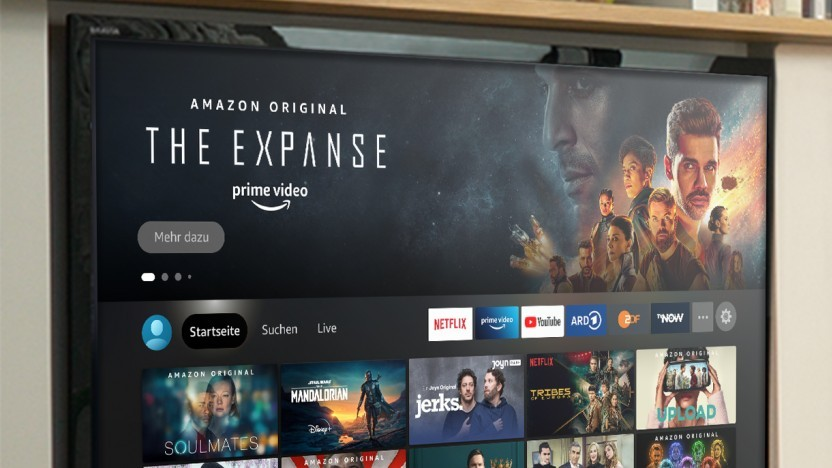 Die neue Fire-TV-Oberfläche wurde nochmals verändert.