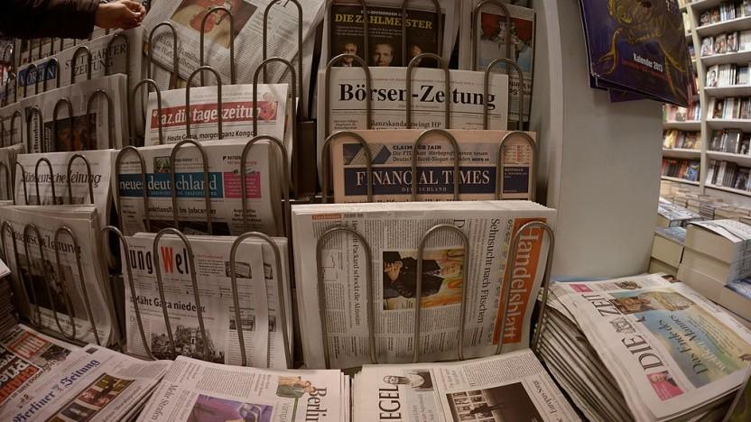 Die geplante Presseförderung gilt nur für gedruckte Erzeugnisse.