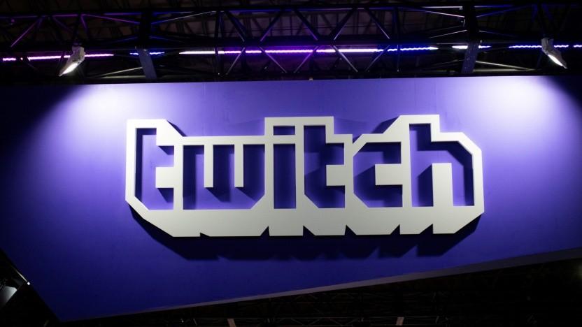 Logo von Twitch