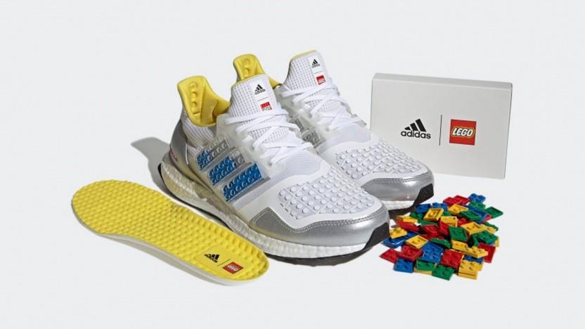 Falls ein Legostein mal abfällt, trägt man immerhin Schuhe, wenn man drauftritt.