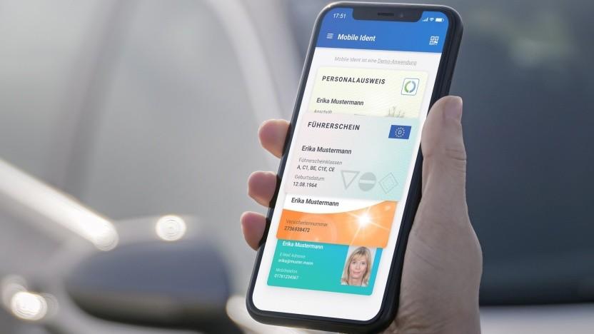 Der Ausweis auf dem Smartphone