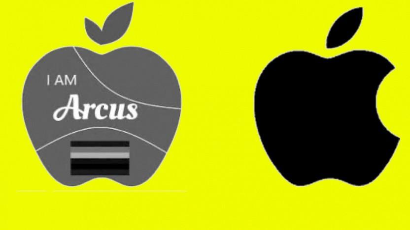 Die beiden konkurrierenden Logos