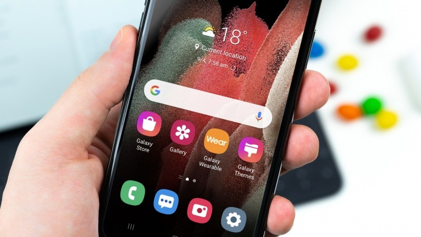 iTest auf einem iPhone
