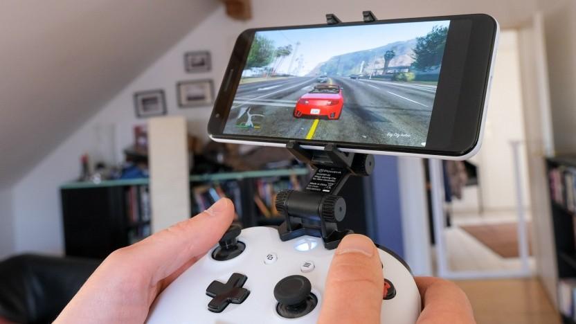 GTA 5 auf einem Android-Smartphone