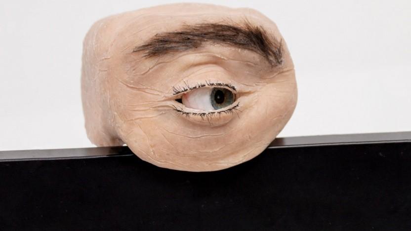 Die Eyecam sieht aus wie ein echtes Auge.