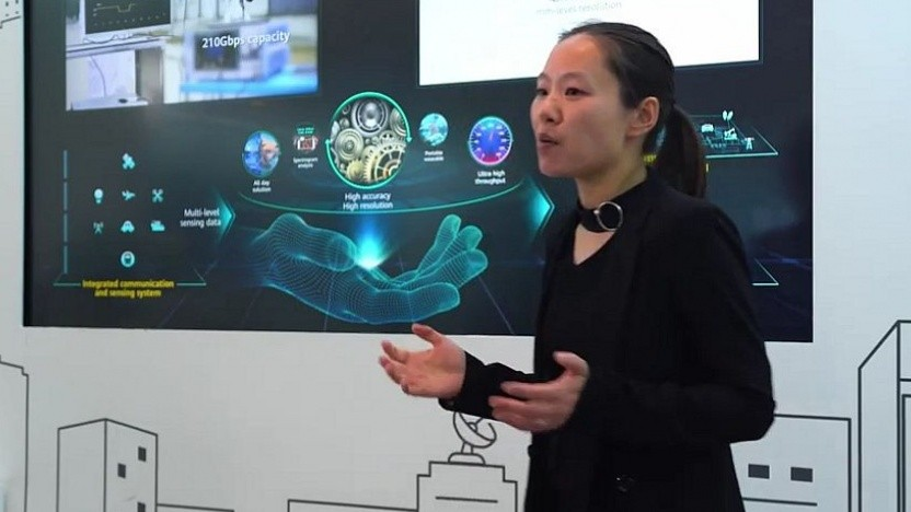 Huawei zeigt auf der Hannovermesse 6G-Prototypen.