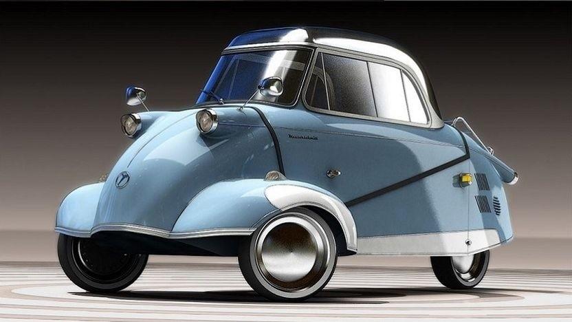Kleinfahrzeuge KR E-5000 L&C: Der Kabinenroller kommt wieder.