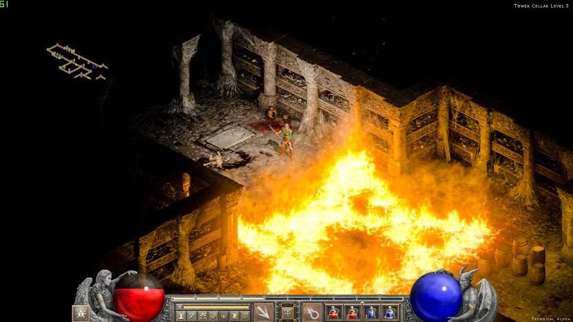 Szene aus Diablo 2 Resurrected