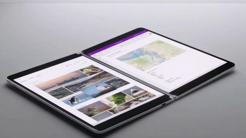 Das Surface Neo ist noch nicht erhältlich.