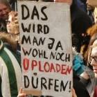 Anhörung zu Uploadfiltern: Verleger wollen Bagatellgrenzen komplett streichen