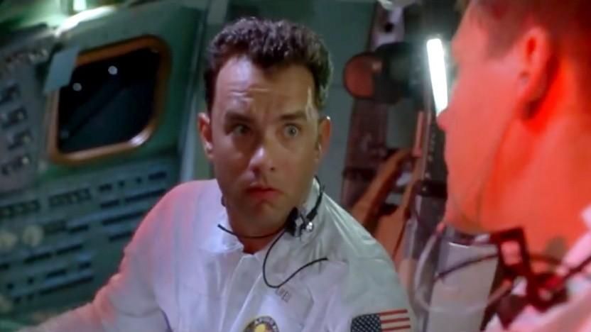 """""""Was hast du gemacht?"""" - """"Nichts, nur die Tanks aktiviert."""" (Szene aus Apollo 13)"""