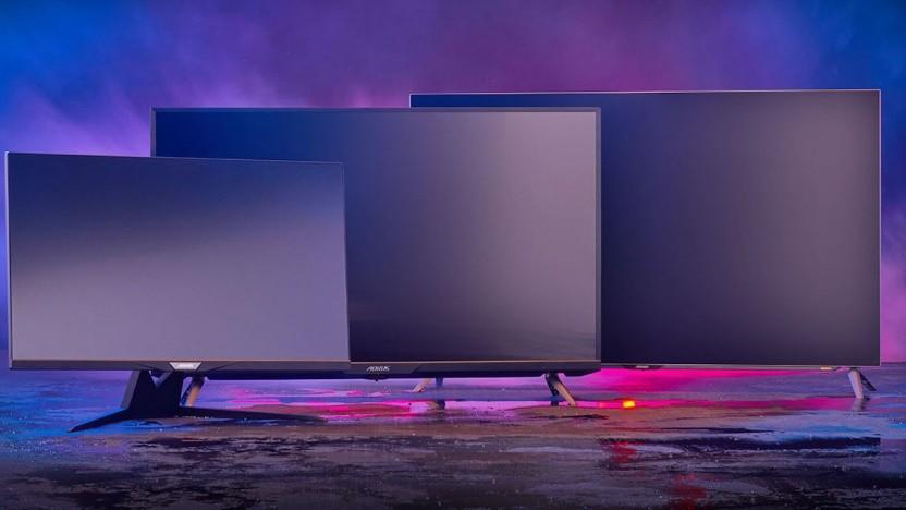 Gigabyte stellt gleich drei große Monitore vor.