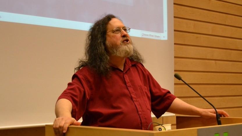 Richard Stallman entschuldigt sich für sein Verhalten, nicht aber für den Inhalt.