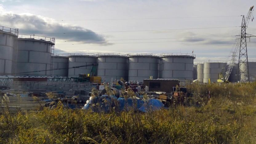 Es befinden sich 1,3 Millionen Kubikmeter kontaminiertes Wasser bei Fukushima Daiichi.