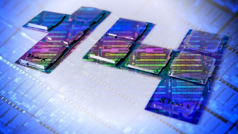 Wir haben 14-nm-CPUs gesammelt ... und einen 10-nm-Wafer darüber gelegt ;-)