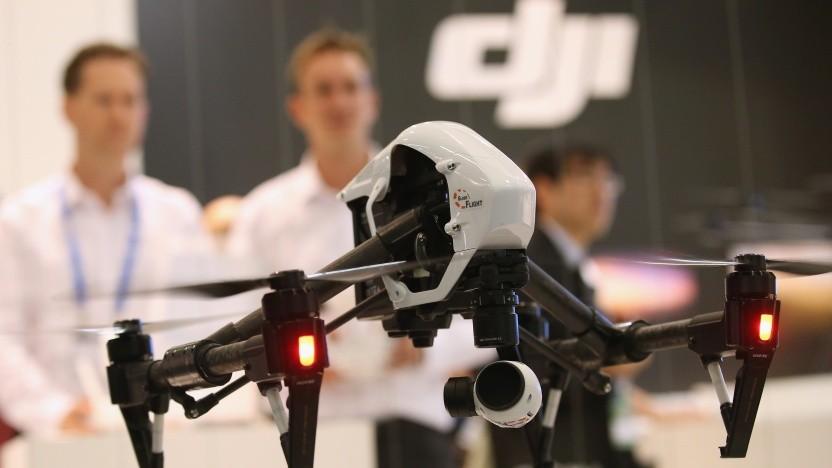 Künftig könnte DJI nicht nur Drohnen, sondern auch Autos mit Sensoren ausstatten.