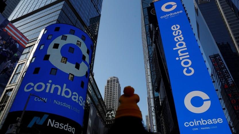 Coinbase ist an der Börse gestartet.