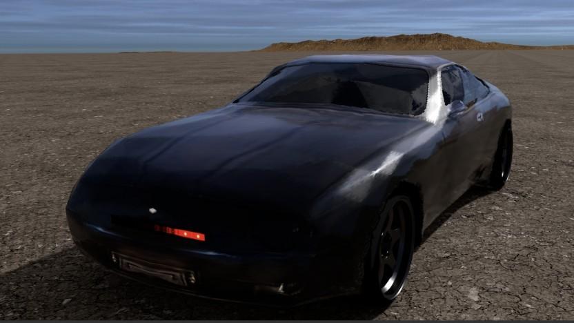 Knight Riders KITT als 3D-Modell