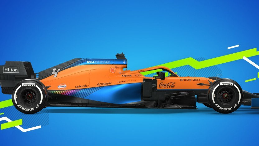 Artwork von F1 2021