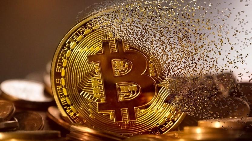 Und weg sind sie, die Bitcoin.