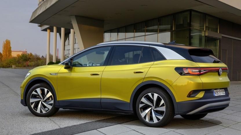VW ID.4: Das SUV kommt als erstes GTX-Modell.