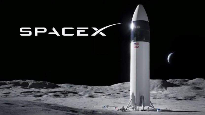 Das Starship soll der nächste Mondlander der Nasa werden.