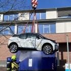 BMW i3: Qualmendes Bürgermeister-Elektroauto im Wassertank gelöscht