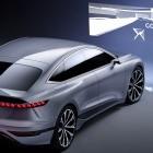 Auto Shanghai 2021: Audi A6 E-Tron projiziert Games an die Wand