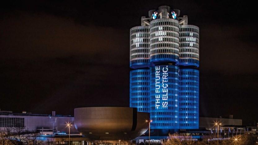 Firmengebäude von BMW