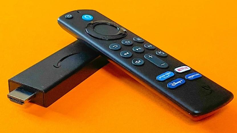 Fire TV Stick mit neuer Fernbedienung im Test