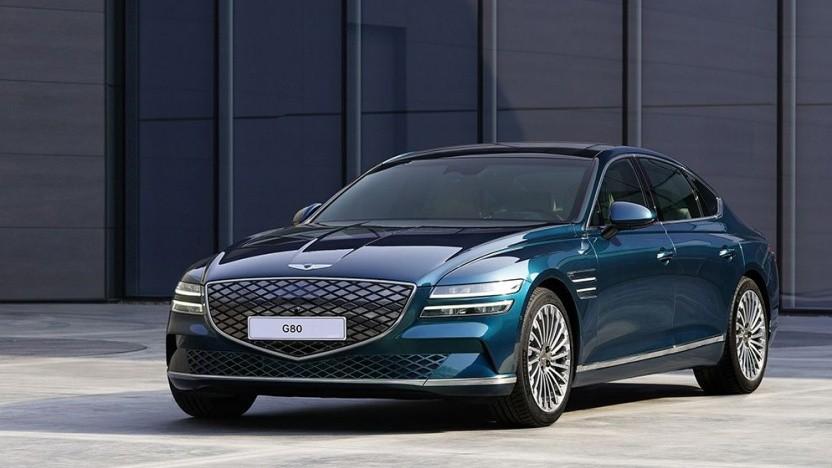 Elektroauto Genesis G80: Geräuschunterdrückung im Innenraum