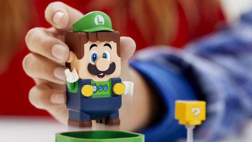 Der neue Lego-Luigi