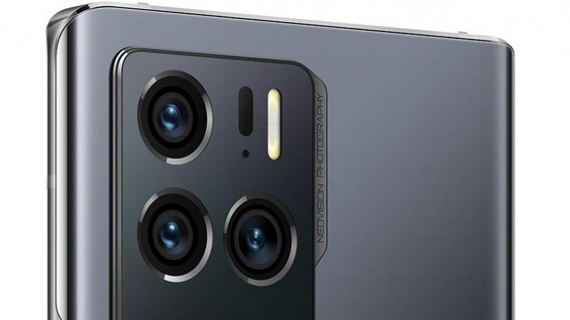 Das Kameramodul des Axon 30 Ultra von ZTE