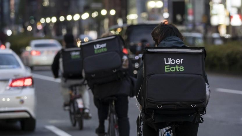 Die Essenslieferung kommt in Deutschland bald auch per Uber Eats.