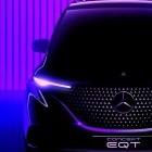 Minivan: Erste Bilder des Mercedes-Benz EQT veröffentlicht