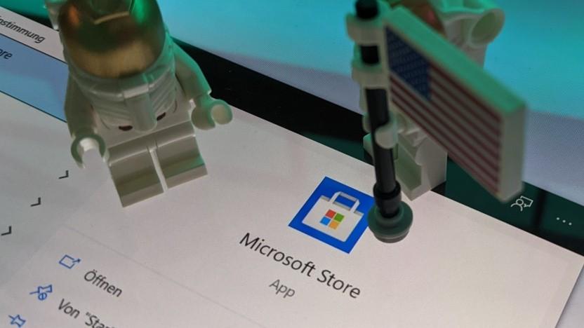 Der Microsoft Store wird intern wohl überarbeitet.