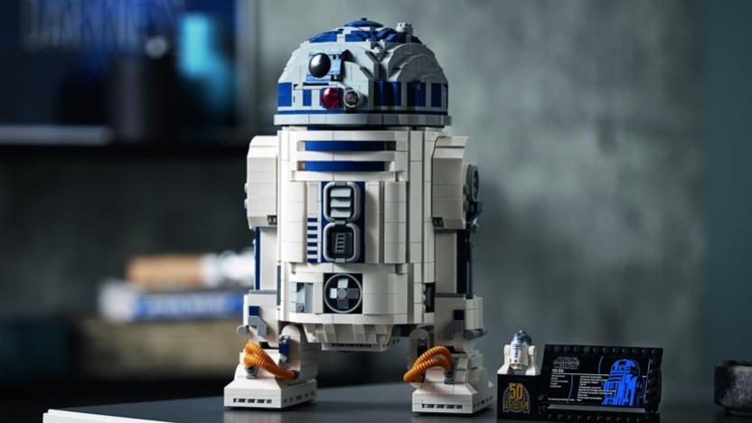 Lego bringt ein sehr detailliertes Modell von R2-D2.