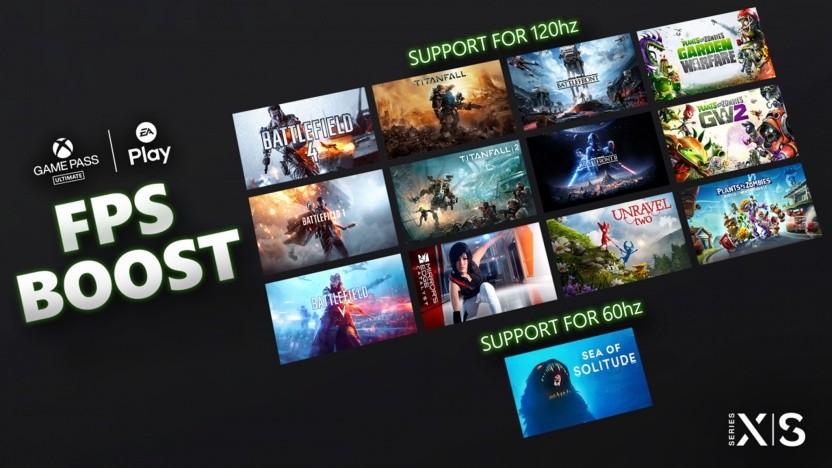 Insgesamt 13 Spiele von Electronic Arts unterstützen jetzt den FPS-Boost.